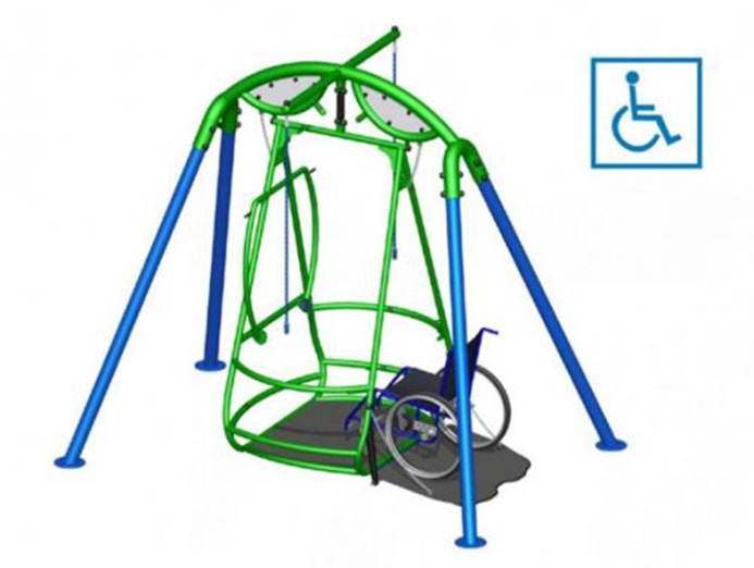 Atracciones infantiles parques infantiles for Silla columpio